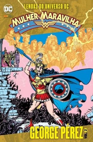 Lendas do Universo Dc - Mulher Maravilha - Vol. 2